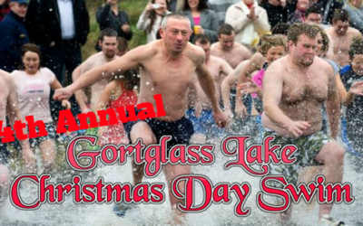 14th ANNUAL GORTGLASS LAKE CHRISTMAS DAY SWIM 2017 RAISES €4185.00 FOR WEST CLARE CANCER CENTRE!!!!!