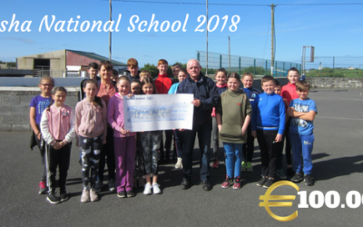 Bansha National School donate €100.00 to West Clare Cancer Centre