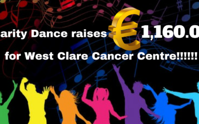 CHARITY DANCE RAISES €1,160.00 FOR WEST CLARE CANCER CENTRE!!!!!!!!!!!!!!!!!!