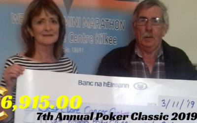 7th Annual Poker Classic Fundraiser – €6,915.00 for the West Clare Cancer Centre!!!!!!!