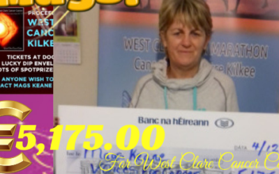 MAGS KEANE'S VOICES FOR CANCER CHARITY CONCERT RAISES €5,175.00 FOR WEST CLARE CANCER CENTRE!!!!!!!!!!!!!