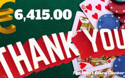 6th ANNUAL WEST CLARE CANCER SUPPORT GROUP POKER CLASSIC RAISES €6,415.00 FOR WEST CLARE CANCER CENTRE!!!!!!