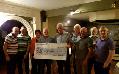 'QUERRIN TO LISDEEN' WALK RAISES €2,670.00 FOR WEST CLARE CANCER CENTRE!!!!!