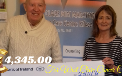 TOM CRAMPTON'S NIGHT OF MUSIC & ENTERTAINMENT FUNDRAISER RAISES €4,245.00 FOR WEST CLARE CANCER CENTRE!!!!!!