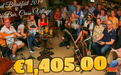 TRAD BREAKFAST 2019 RAISES €1,405.00 FOR WEST CLARE CANCER CENTRE!!!!!!!!!!!!!!